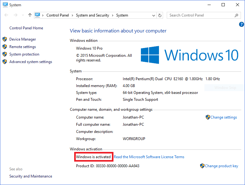 windows 7 upgrade to windows 10 without product key