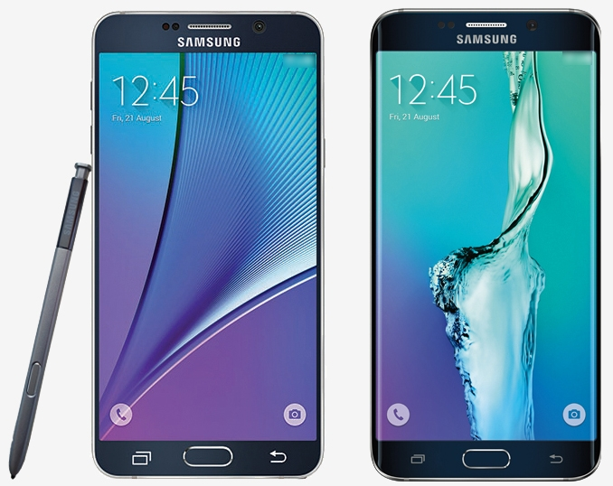 Samsung Galaxy S6 Edge Plus, Note 5 press images surface