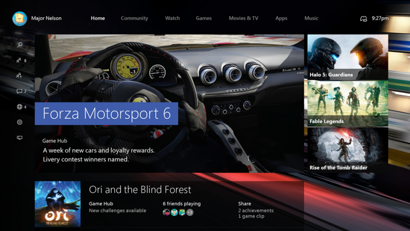 The Xbox One gets Windows 10 on November 12th