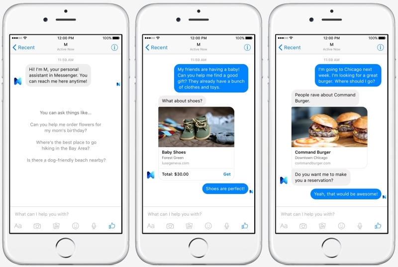 Facebook's new digital assistant 'M' could be a real differentiator