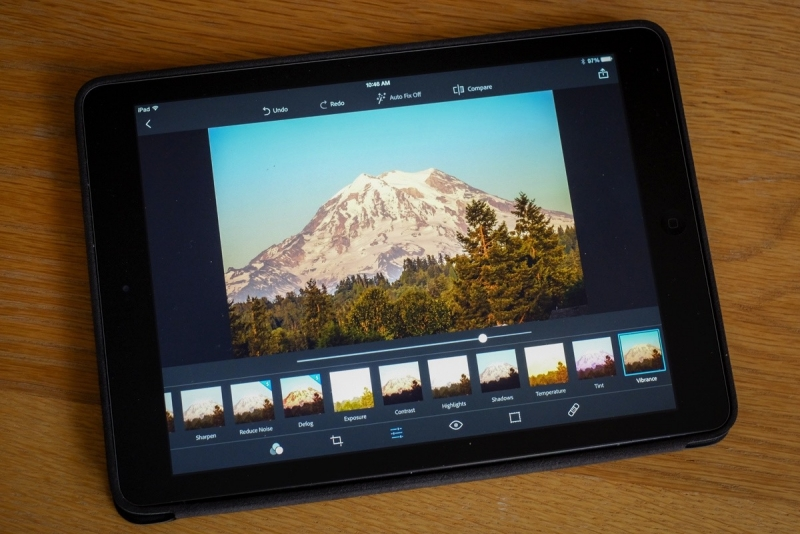 Take your photo editing to go with Adobe's latest Photoshop mobile