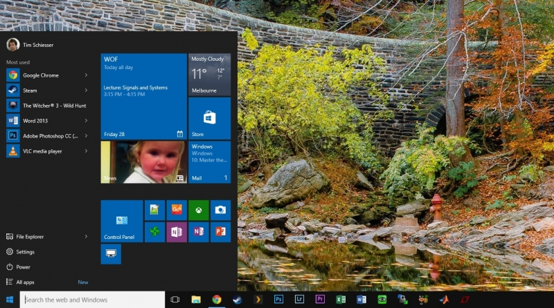 Weekend Open Forum: What apps are pinned to your taskbar?