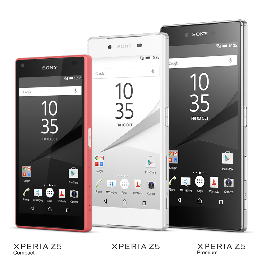 Sony Xperia Z5 Phones Are Official  World U0026 39 S First 4k