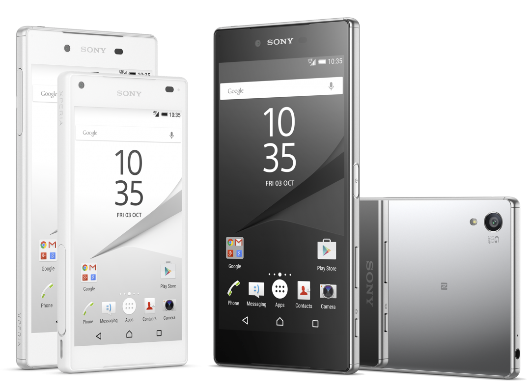 Sony Xperia Z5 phones are official: world's first 4K smartphone display is here