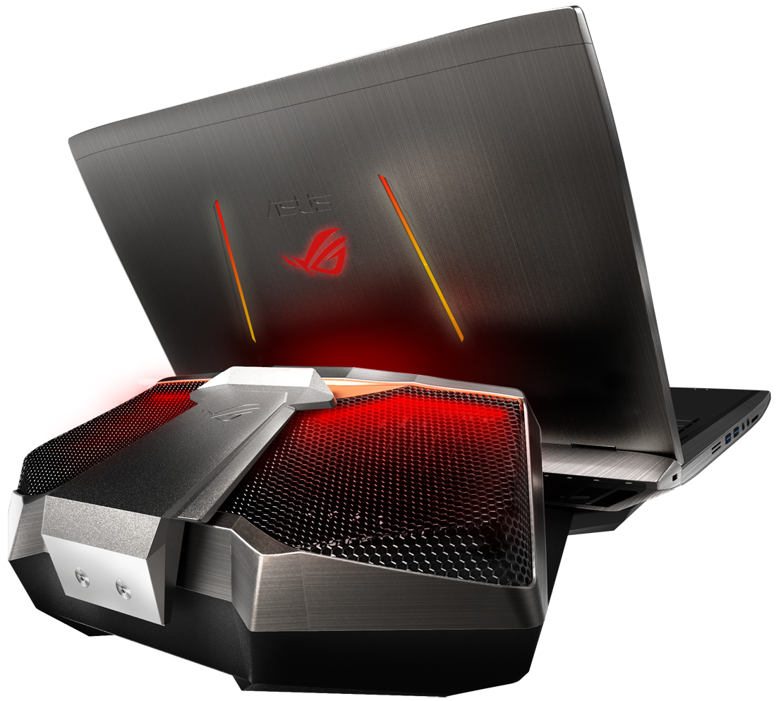 Watercooling goes mobile with the Asus GX700 gaming notebook