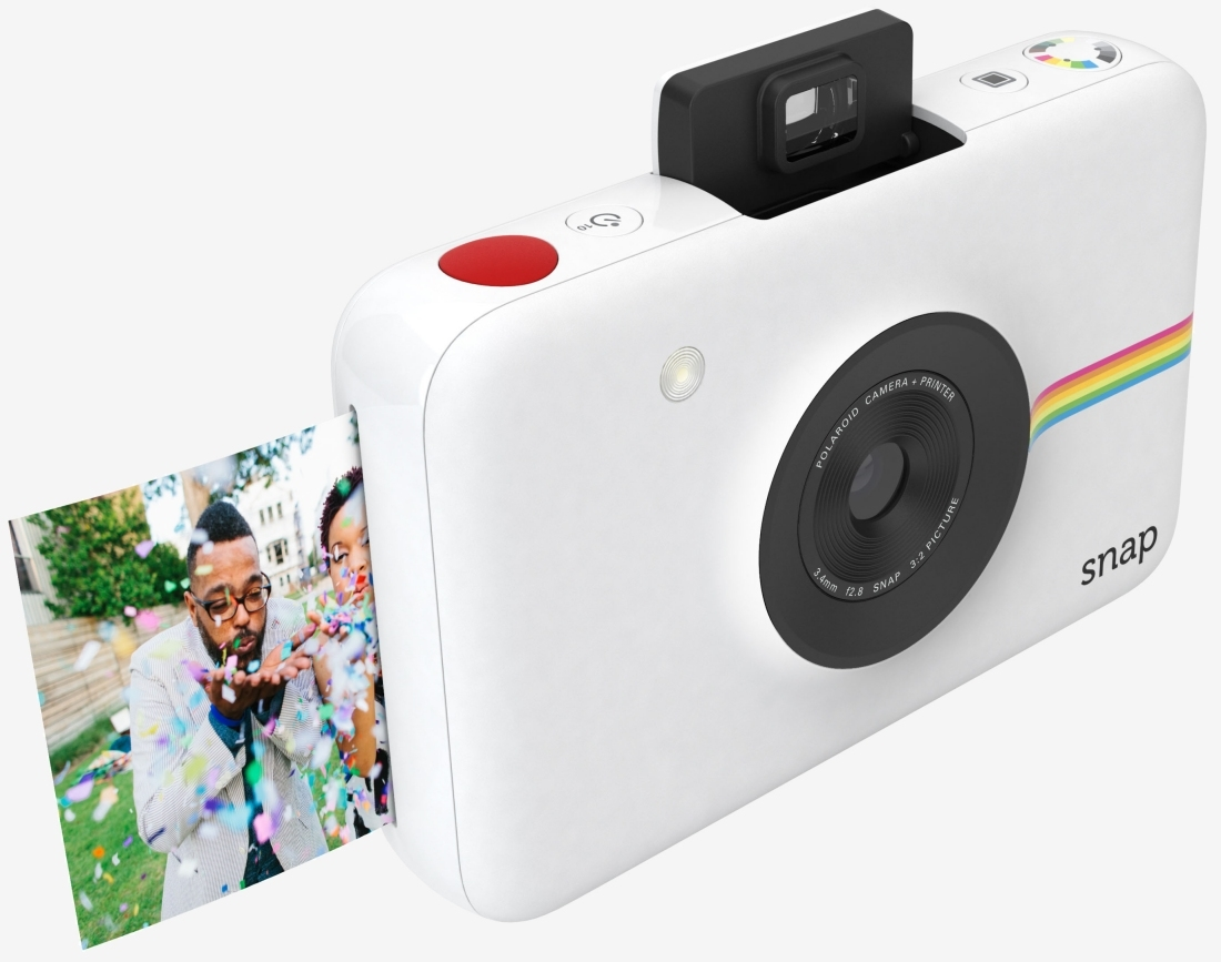 Polaroid Snap digital camera blends nostalgia with technology to print photos without ink