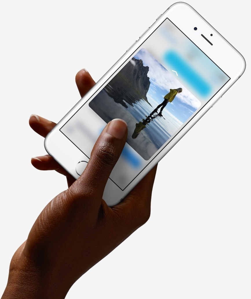 Apple iPhone 6s with defining 3D Touch feature, 12MP camera