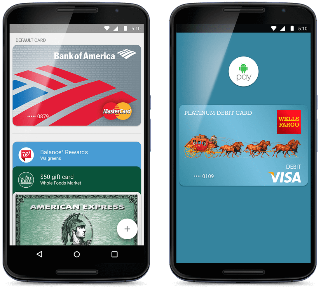 Android Pay rollout now underway in the US - TechSpot