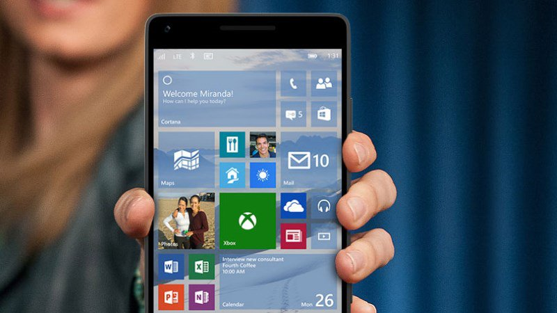 what is the latest windows 10 mobile build
