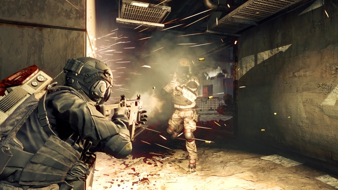 'Umbrella Corps' is a third-person, competitive online shooter set in the Resident Evil universe