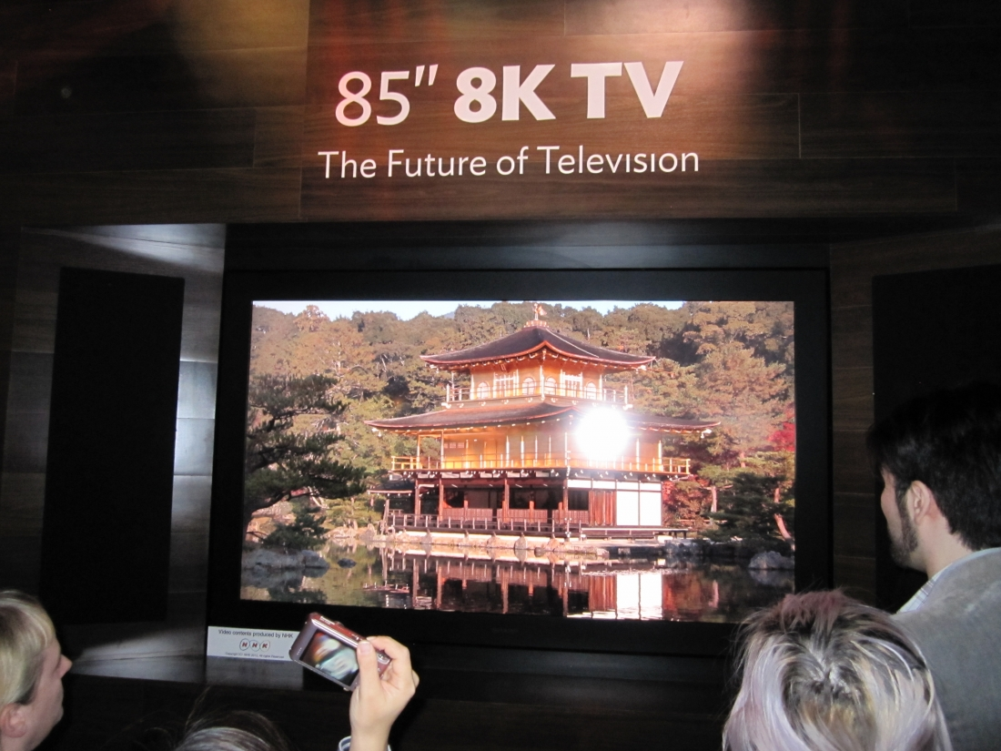 sharp to launch the world's first 8k tv next month in japan for