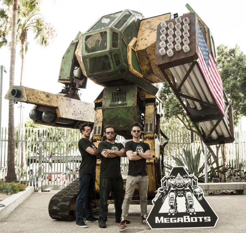 Kickstarter campaign to upgrade the giant American fighting robot reaches its funding target