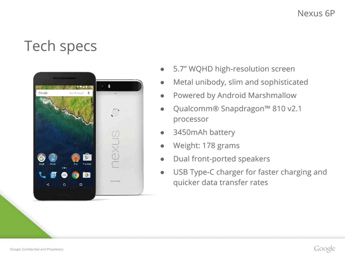 Weekend tech reading: Nexus 6P slides leaked, supermoon lunar eclipse tonight, USB 3.1 explained