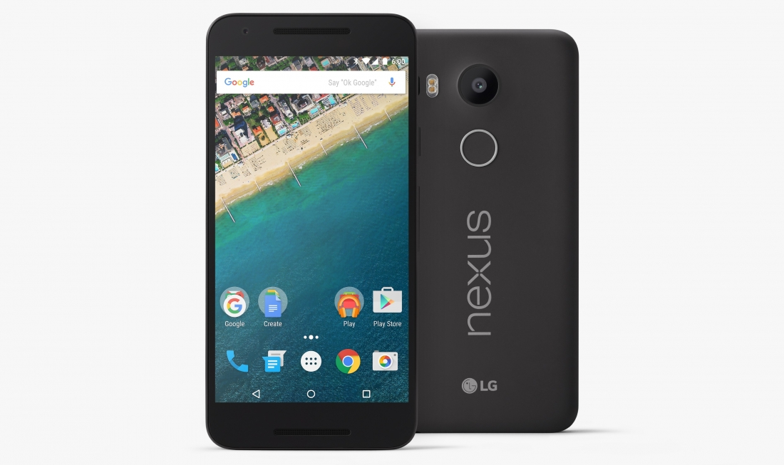 Google's Nexus 5X is official at $379, pre-orders are open