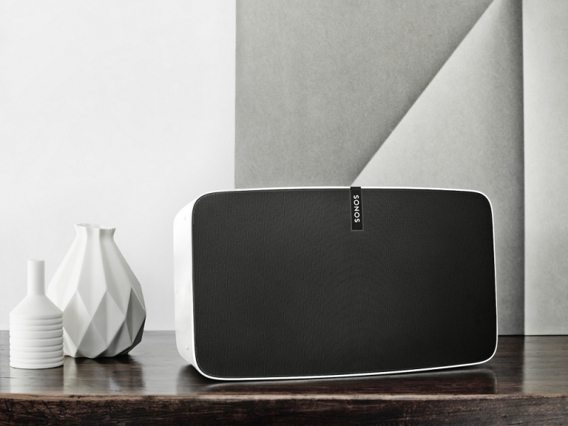 Sonos unveils updated Play:5 speaker and new auto-calibration software