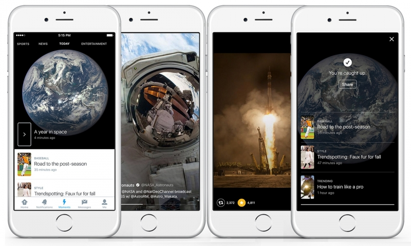 Twitter launches Moments, its new breaking news feature