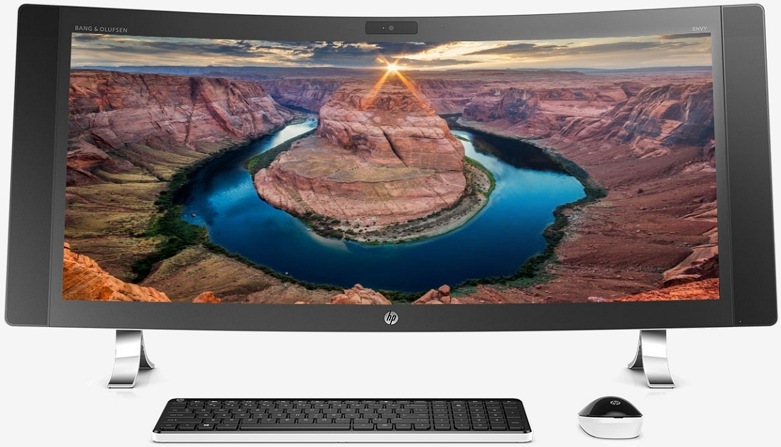 HP's new Envy AIO packs a massive 34-inch curved screen