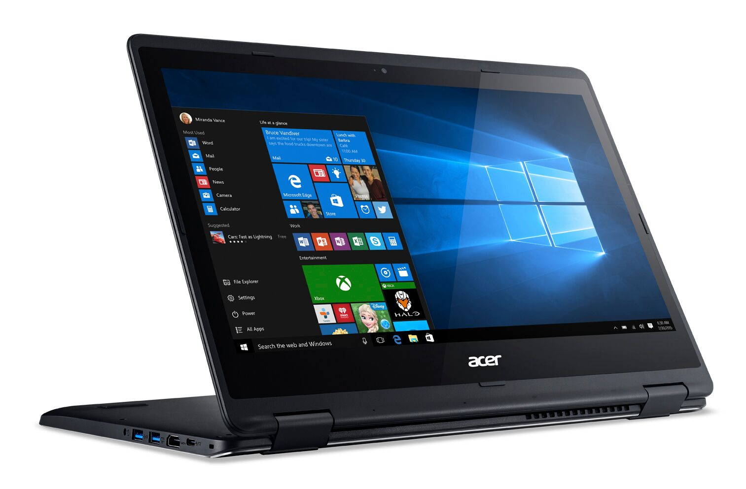 Acer launches new Windows 10 convertible and a portable all-in-one
