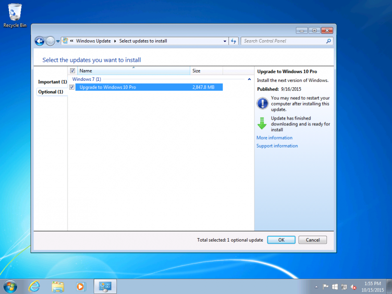 Microsoft automatically updated some Windows 7/8 PCs to Windows 10 by mistake