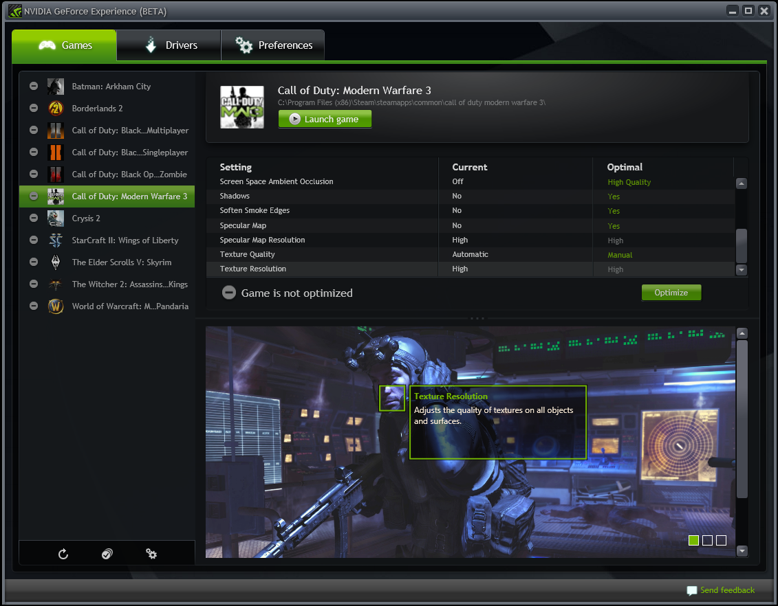 nvidia geforce experience driver download