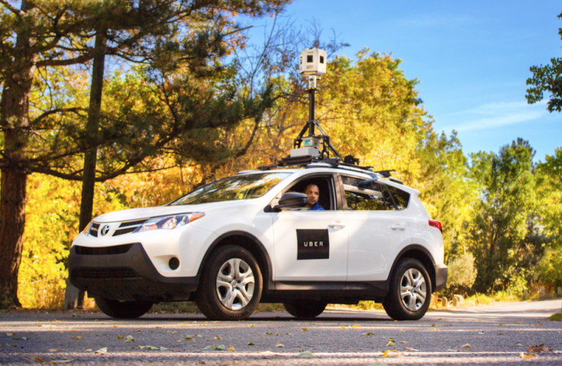 Uber using Google Street View-style mapping vehicles to improve its ride-hailing service