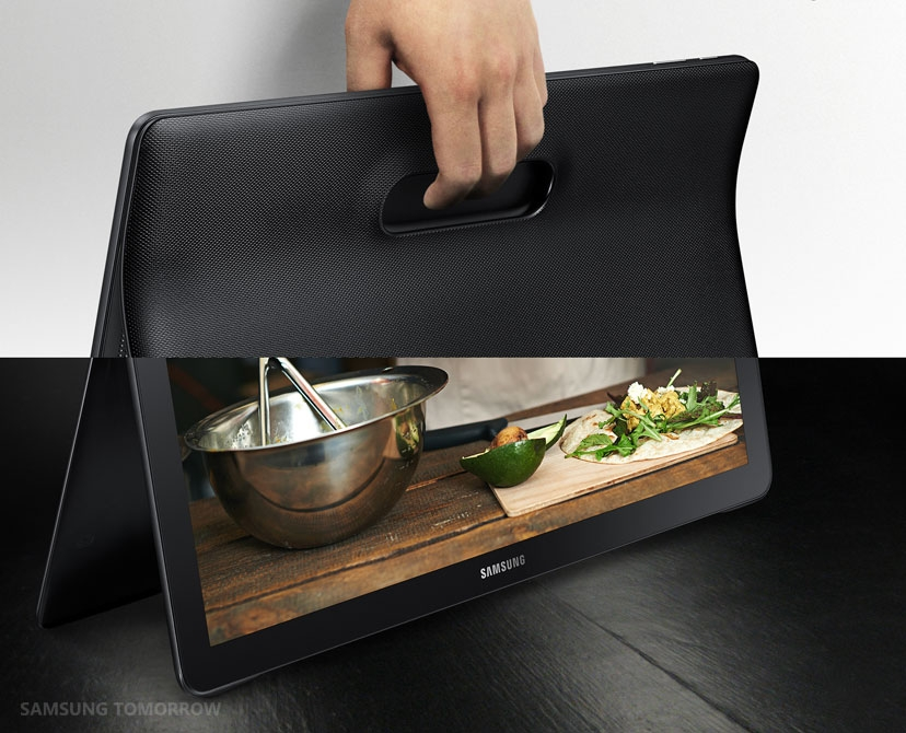 Samsung officially unveils massive Galaxy View tablet, price remains a mystery