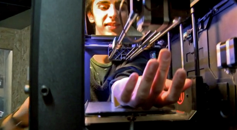 French design team turn 3D printer into automated tattooing machine