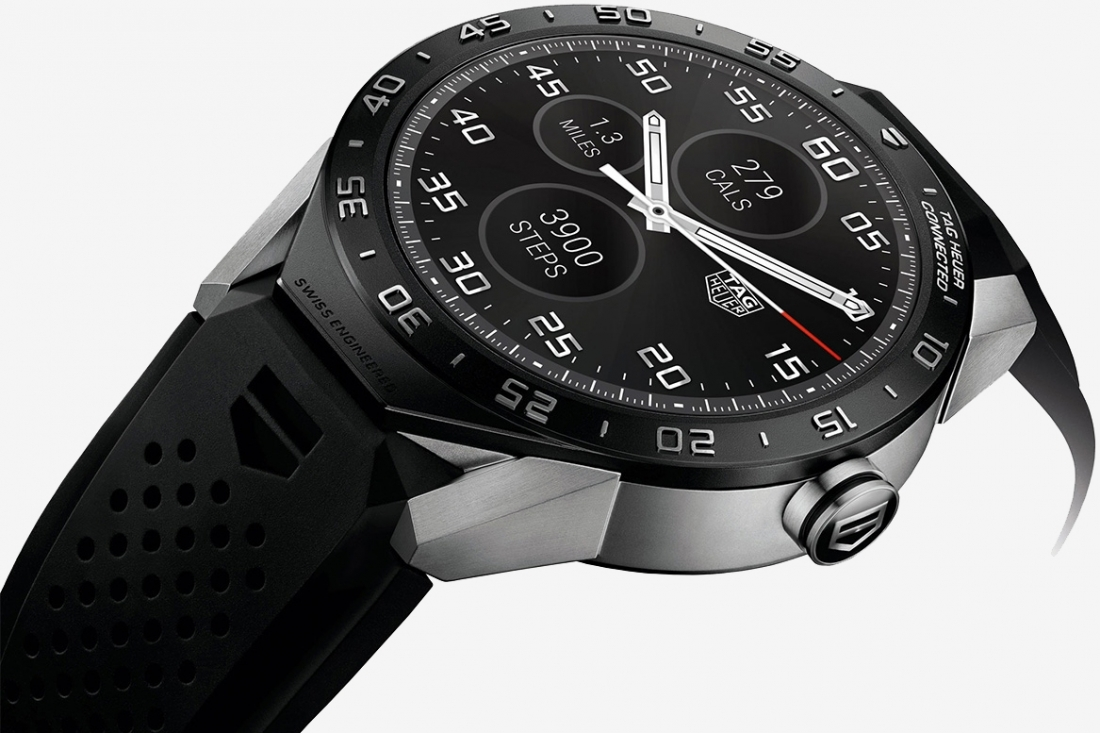 Tag Heuer launches $1,500 Android Wear smartwatch