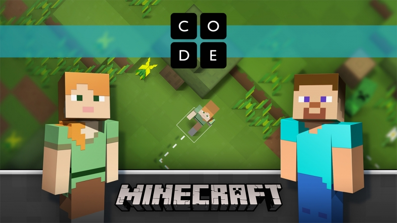 Microsoft and Code.org join forces to teach kids programming using Minecraft