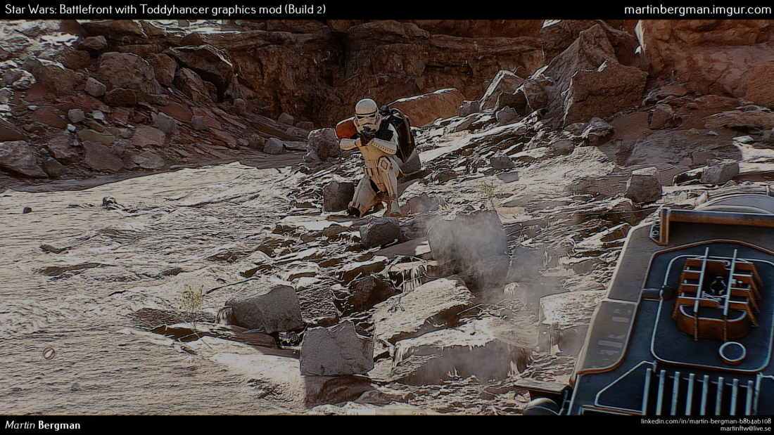 Star Wars Battlefront looks more like a movie with this