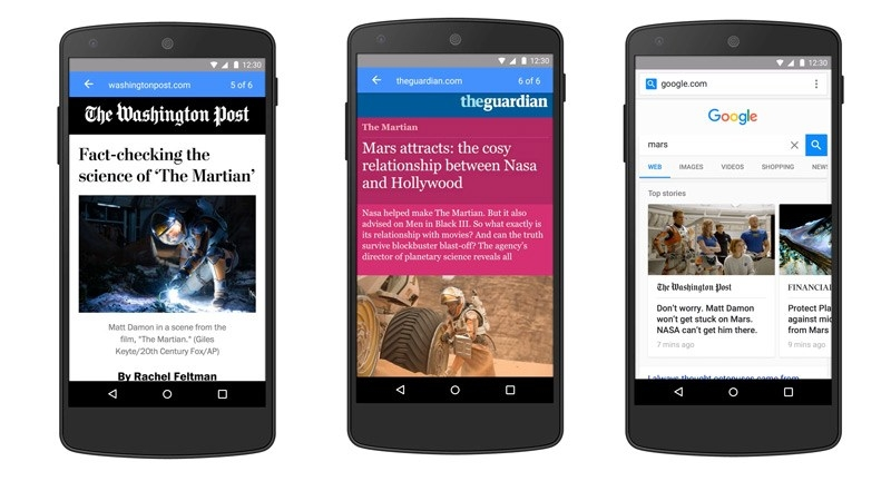 Google's Accelerated Mobile Pages will arrive early next year