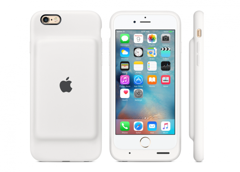 Apple unveils its first official battery case for the iPhone
