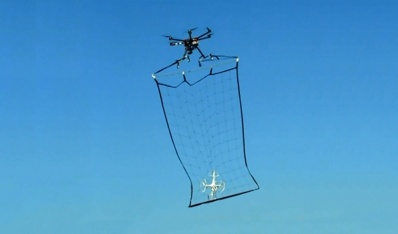 Tokyo is using drones with nets to combat rogue drones