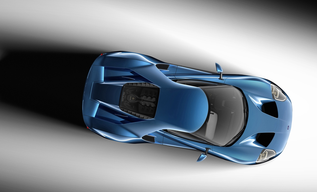 Ford's upcoming supercar will feature Gorilla Glass-laced windshield