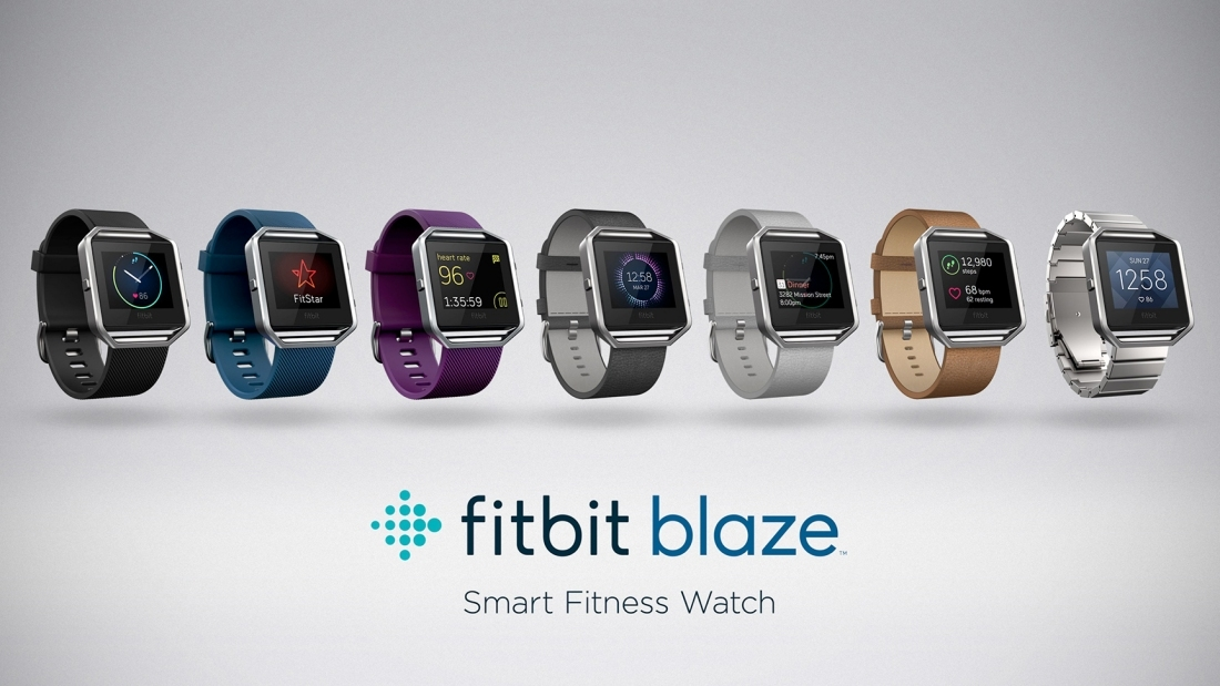 Fitbit announces Blaze, it's first-ever color touchscreen fitness watch
