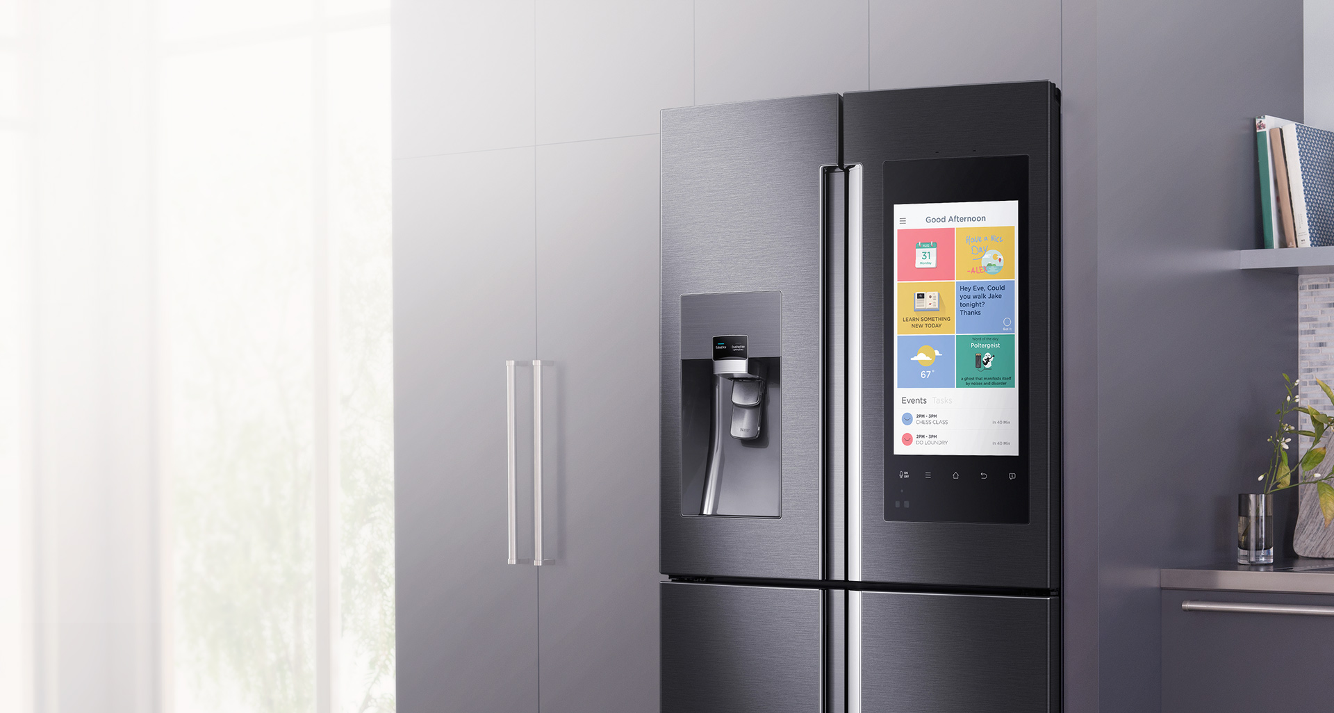 Samsung\'s $5000 fridge is packed with enough technology to (almost ...