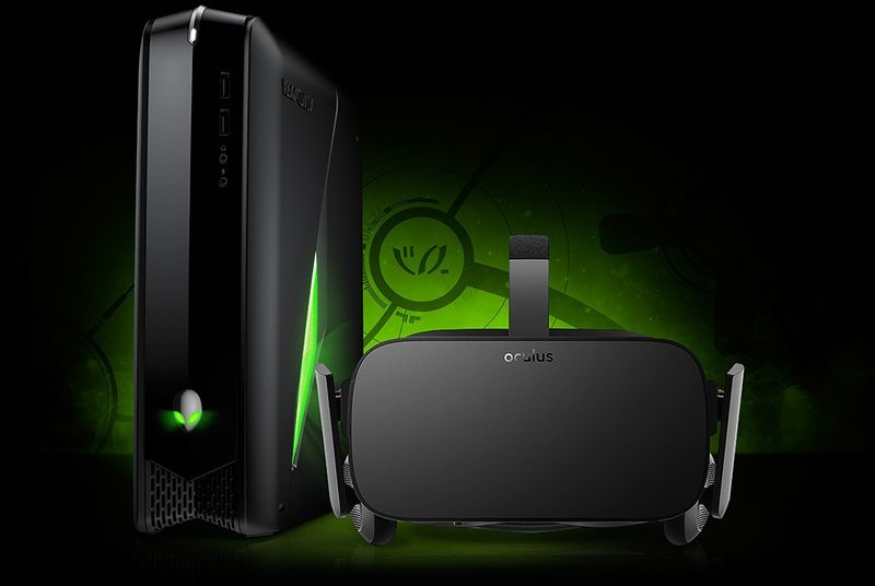 Alienware reveals money-saving Oculus bundle and world's first OLED gaming laptop