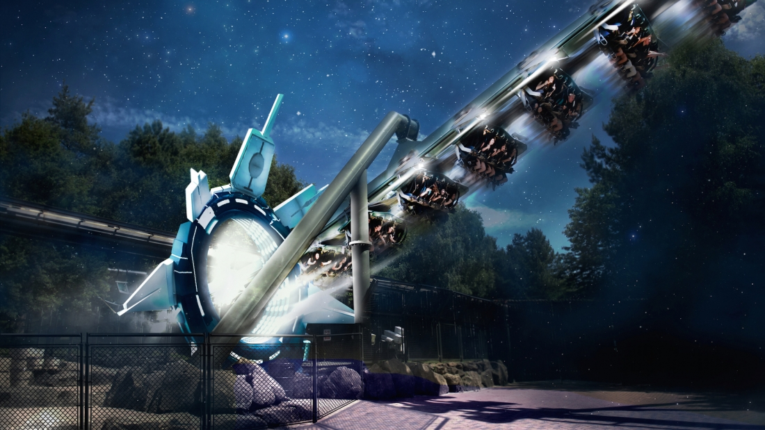 Alton Towers to augment roller coaster with virtual reality