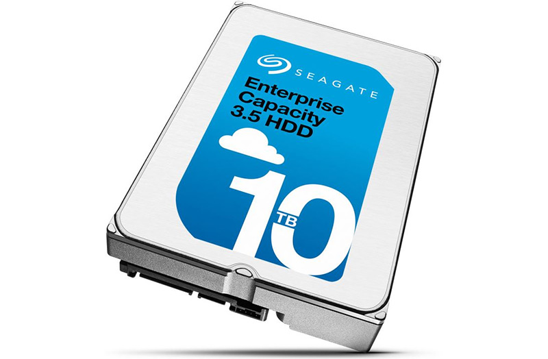 Seagate launches its own 10 TB helium-filled hard drives