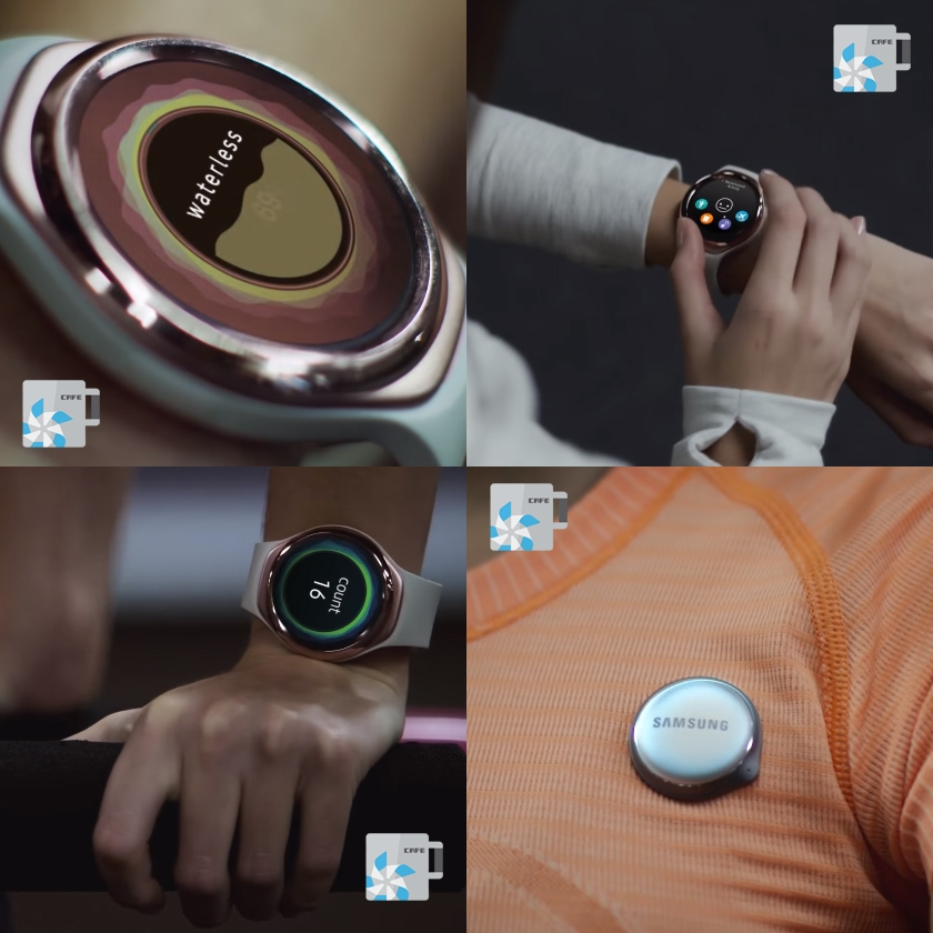 Samsung activity tracker with Gear S2 styling leaked in photos