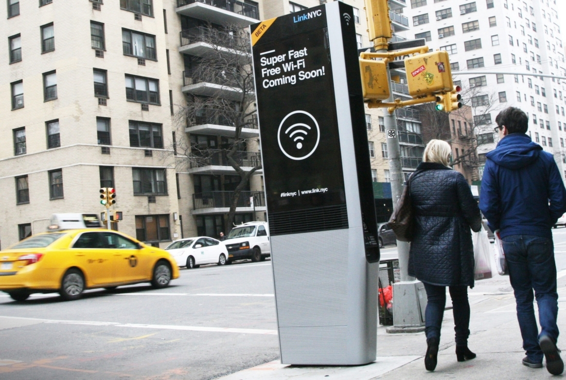 New York's insanely fast public Wi-Fi hubs are now live