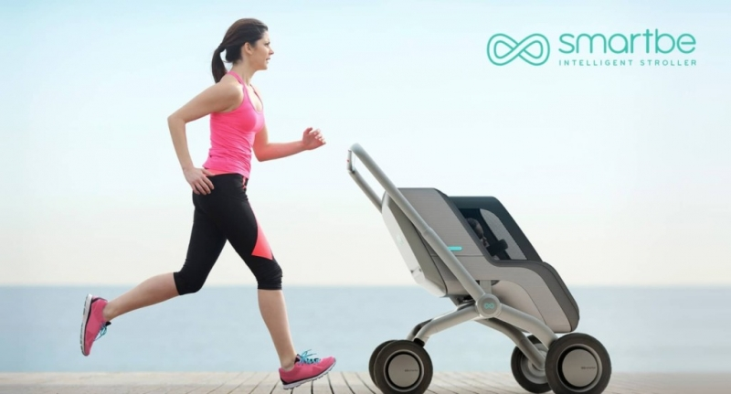 Find parenthood exhausting? Then you may want to try Smartbe, the semi-autonomous stroller