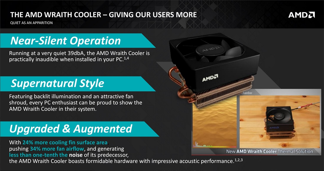 AMD launches Wraith Cooler, updates processor line-up for 2016