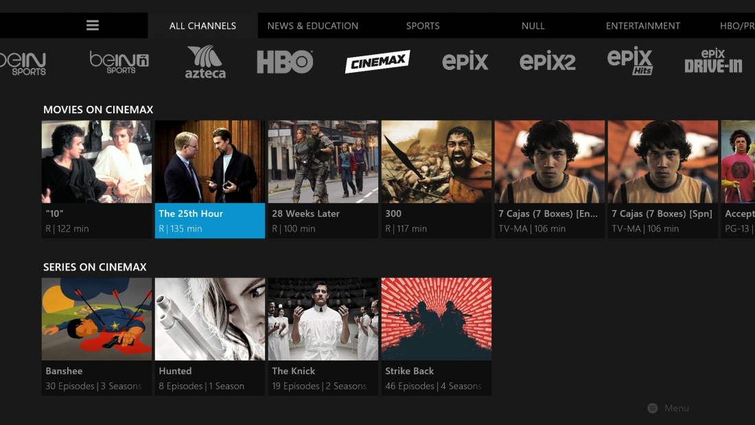 Sling TV adds Cinemax to its lineup for an extra $10 per month