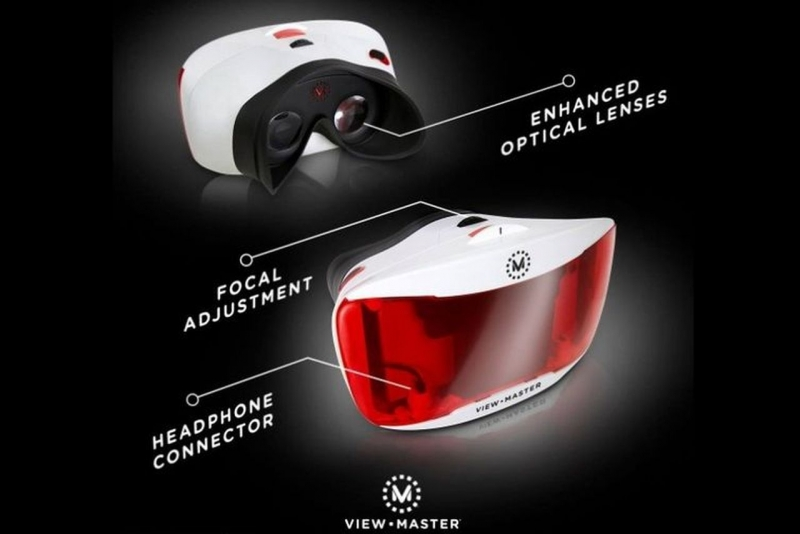 Mattel's updated VR View-Master will launch this fall along with a new dinosaur-themed experience