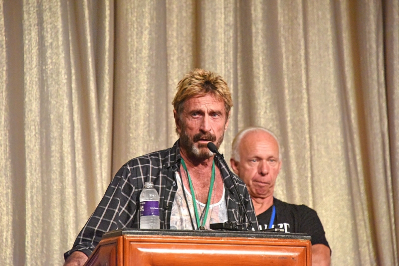 John McAfee says he'll decrypt the San Bernardino iPhone for free with his team of super hackers