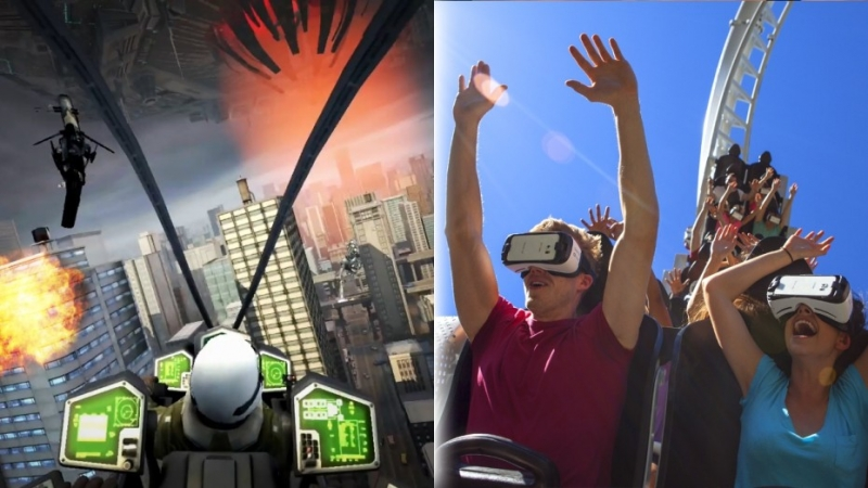 Six Flags and Samsung team up to bring the VR experience to nine roller coasters across the US