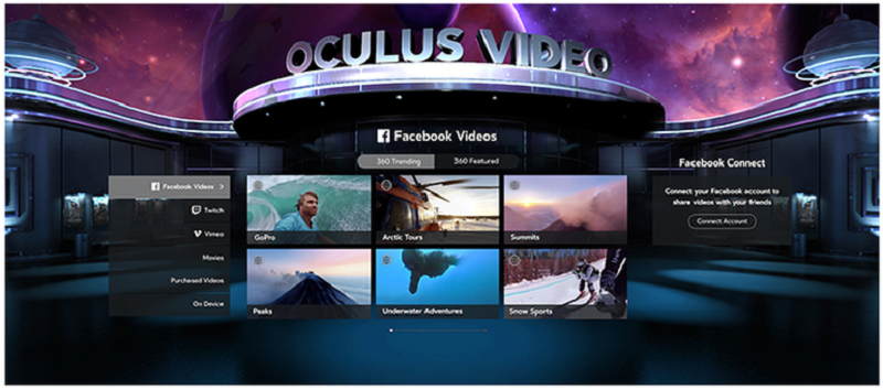Oculus launches new social games, videos, and Facebook features for the Samsung Gear VR