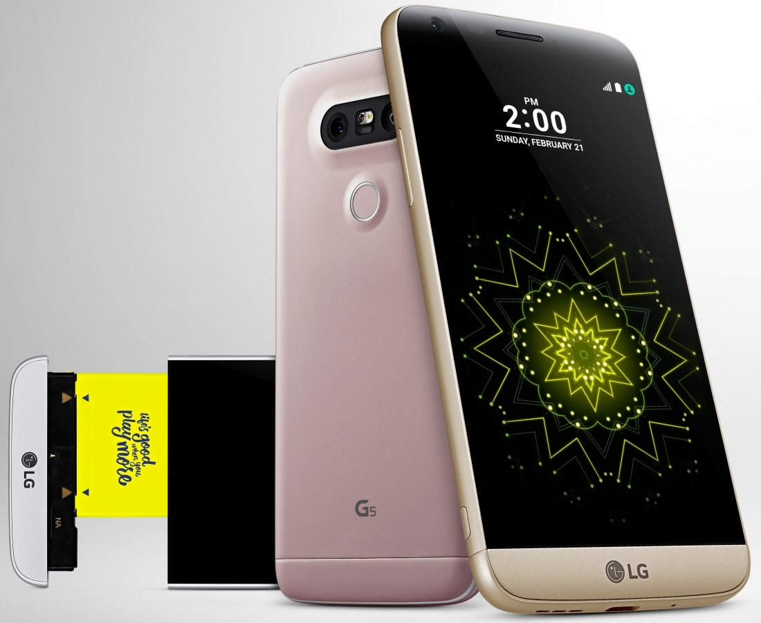 LG confirms early April US launch for LG G5 and modular 'Friends'