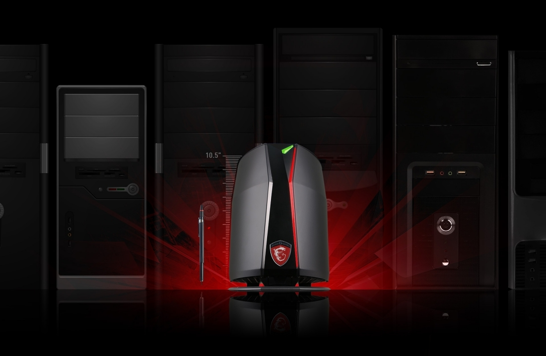 MSI's Vortex PC is the equivalent of a Mac Pro for gamers